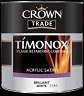 Crown Timonox Acrylic Satin B/white